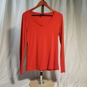 Cynthia Rowley Tunic Long sleeve, Red, Size L